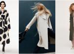 Hat gyönyörű trench coat őszre
