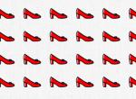 Csak a zsenik szúrják ki a kakukktojás magassarkút a képen - 15 másodperced van