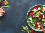 Igazi vitaminbomba: Színes téli saláta céklával, gránátalmával és kecskesajttal