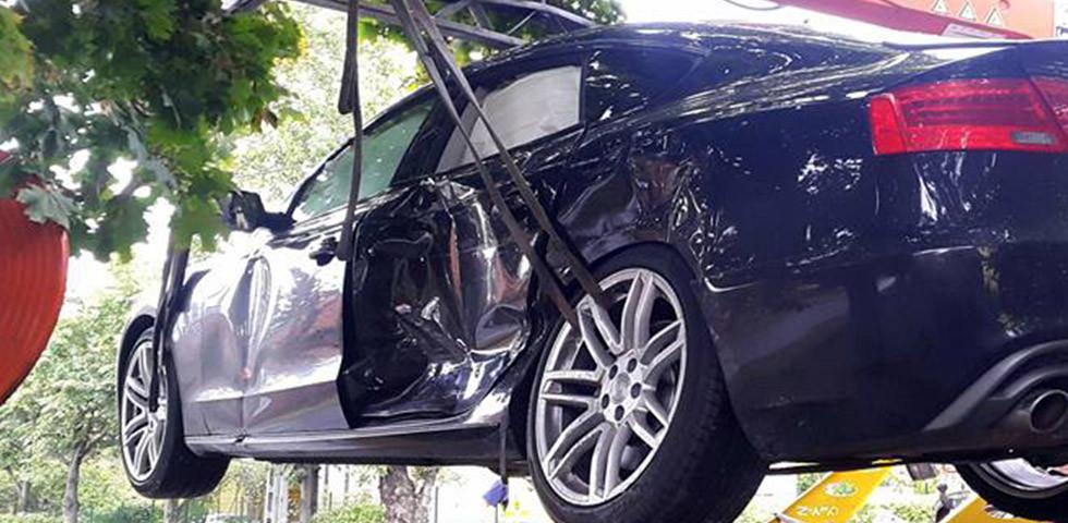 Duplán ütközött: Autóbaleset érte a TV2 műsorvezetőjét - Fotó