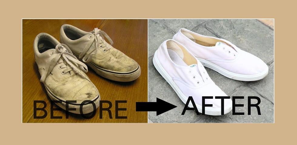 Zseniális trükk: Ha így mosod a cipőd, olyan lesz, mint új korában