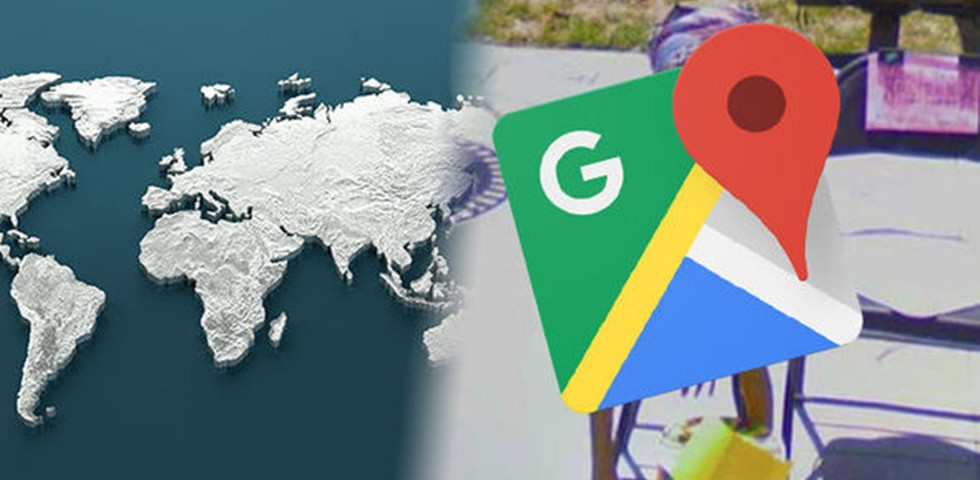 Bizarr felvétel: kiszúrta a Google térkép az utcán napozó földönkívülit