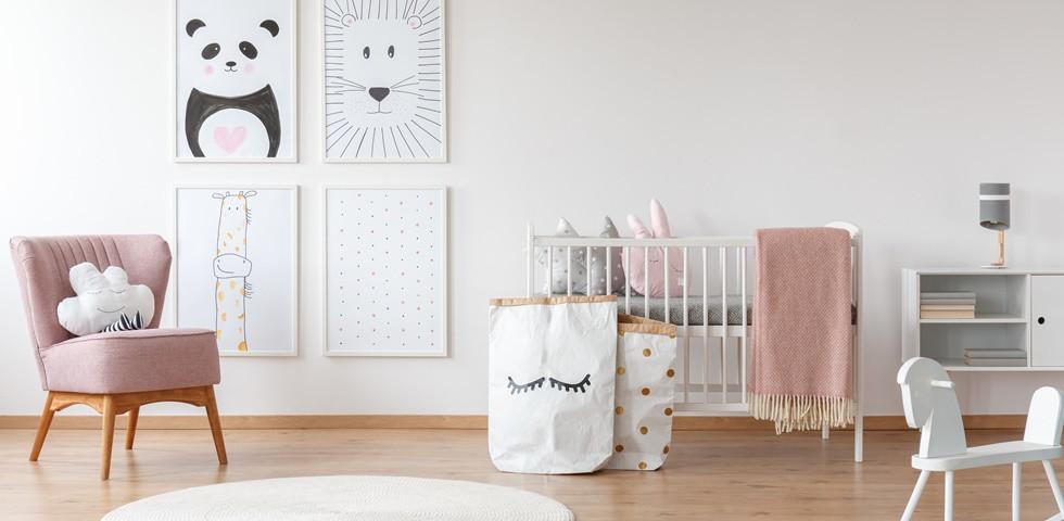 Aktuális trendek amiket ismerned kell, ha baba- vagy gyerekszobát tervezel