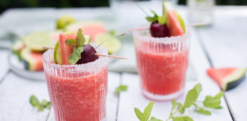 Vodkás görögdinnye slush