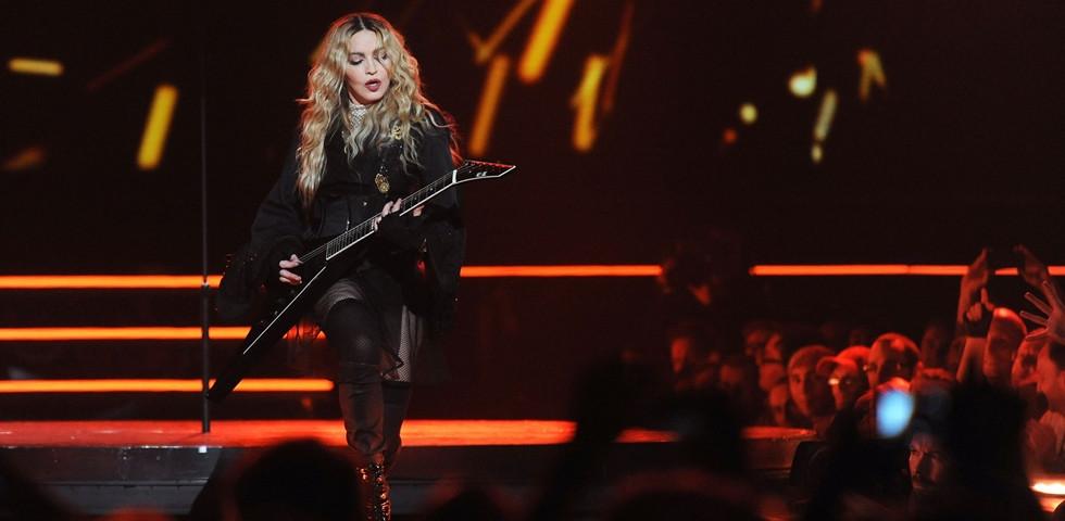 Íme a pillanat, amikor Madonnát felpofozták - Ehhez kellett bátorság